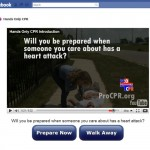 ProCPR's Hands-Only CPR Facebook App Launches