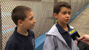 William Ruhno and Derek Almeida were on the playground during recess Wednesday when Derek started choking. Photo Credit: News 12 New Jersey
