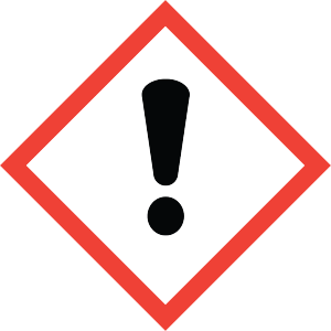 Hazard Communication - Exclamation Pictogram