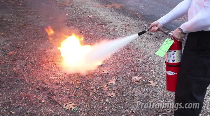 Fire Safety Training - Extinguisher